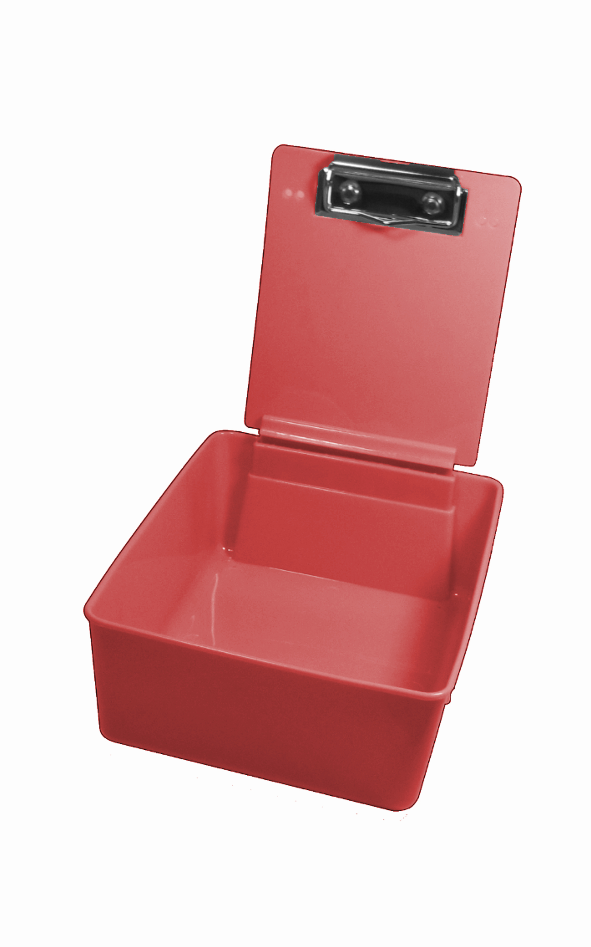 Plastic Work Pan Red