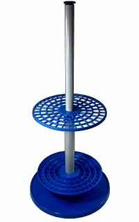 Pipette stand - Vertical - Rotating - Premium