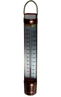 Thermometer - copper cased scoop