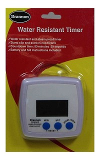 Timer - water resistant timer