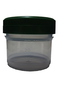 Container Histology HDPE Lid 0120mL