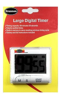 Timer - large digital countdown