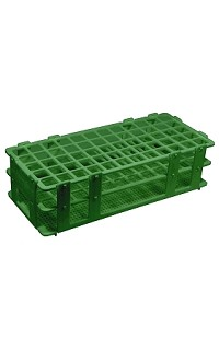 Test tube rack - 25mm - 3 x 8 - green