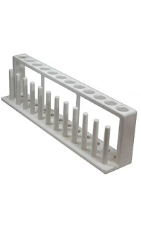 Test tube rack/drying - 12 hole - 18mm