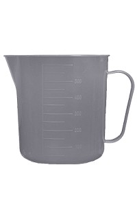 Plastic budget measuring jug - 2000mL