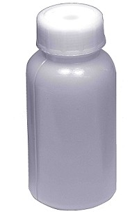 Plastic reagent bottle - wide mouth - 0060mL