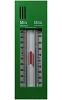 Max/min thermometer - Quick Set push button