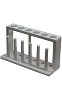 Test tube rack/drying - 6 hole - 18mm