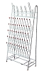 Draining rack - 55 positions - 650 x 360mm