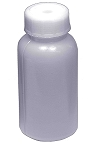 Plastic reagent bottle - wide mouth - 0150mL