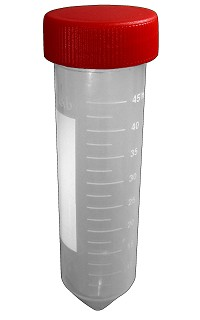 Centrifuge tube - Conical bottom - Graduated - 50mL - PP