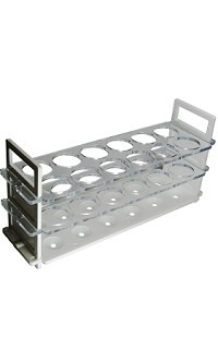 Test tube stand - 3 tier - 32mm x 12 tubes