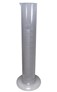 Plastic measuring cylinder - Premium - 0010mL