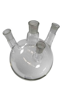 Flask-boil-4 neck-round bottom-1000mL 24/29, 3@19/26
