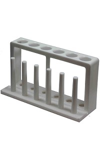 Test tube rack/drying - 6 hole - 25mm