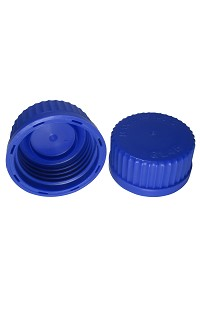 Blue GL45 Screw Cap