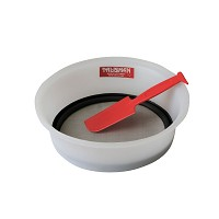 Hand sieve with spatula - #80 screen