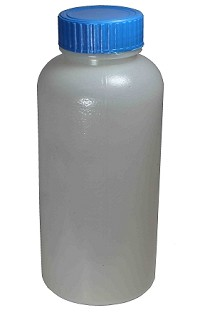 Plastic reagent bottle - wide mouth - 0125mL