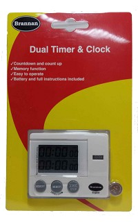 Timer - dual timer and clock